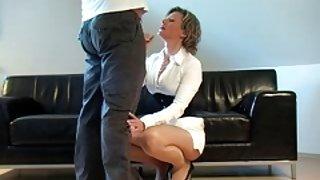 آلمانی سکسی ترین فیلم ها fantastci, در مقابل او لباس سفید پاشنه بلند